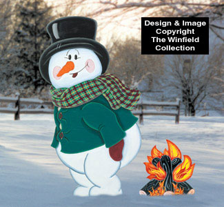 Winter Warm Up Woodcraft Pattern