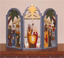 Small 3 Arch Nativity Woodcraft Pattern