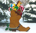 Christmas Boot Woodcrafting Pattern