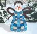 Quilted Snow Angel Woodcraft Pattern