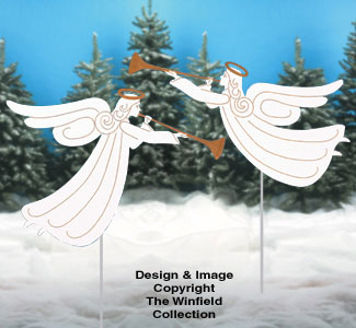 Trumpeting Angels Woodcraft Pattern