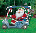 Golfing Santa Woodcrafting Pattern