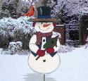 Frosty Feeder Woodcrafting Pattern