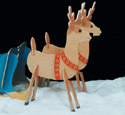 Take Apart Reindeer Woodcraft Pattern