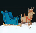 Take Apart Sleigh & Reindeer Combo Patterns