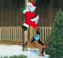 Treed Santa Woodcraft Pattern