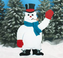 Giant Snowman Woodcraft Pattern