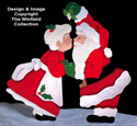 Christmas Kiss Woodcraft Pattern
