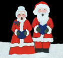 North Pole Carolers Woodcraft Pattern