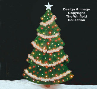 All Christmas - Christmas Tree Woodcraft Pattern