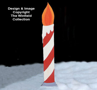 Candle Woodcrafting Pattern
