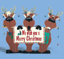 Reindeer Trio Yard Sign Woodcraft Pattern