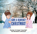 Heavenly Christmas Sign Woodcraft Pattern
