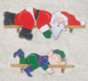 Lazy Santa & Elf Woodcraft Pattern
