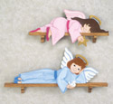 Lounging Angels Woodcraft Pattern