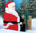 Giant Yard Santa Woodcraft Pattern