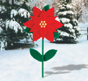Yard Poinsettia Woodcraft Pattern
