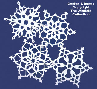 Giant Snowflakes Woodcrafting Pattern