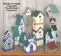 Decorative Birdhouses Pattern