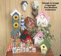 Decorative Birdhouses Pattern Set #2