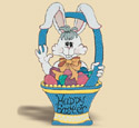 Happy Easter Wabbit Woodcraft Pattern