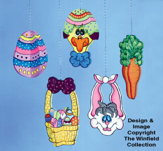 Easter Ornaments Woodcraft Pattern