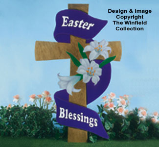 Large Easter Cross Woodcraft Pattern