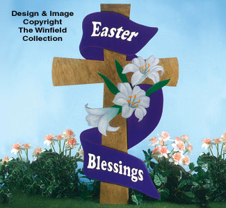 Small Easter Cross Woodcraft Pattern