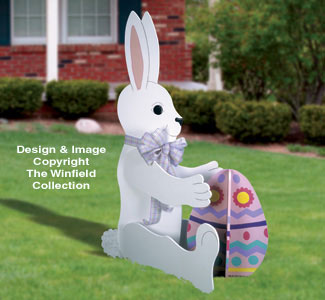 Giant Yard Rabbit Woodcraft Pattern