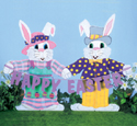 Happy Easter Pair Woodcraft Pattern