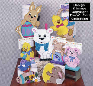 Crazy For Easter Woodcraft Pattern