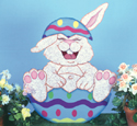 Giggles The Bunny Woodcraft Pattern