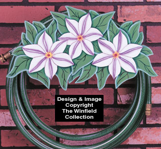 Flower Hose Holder Pattern