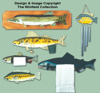 Fresh Catch Woodcrafting Pattern