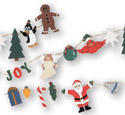 Christmas Garland Woodcraft Pattern