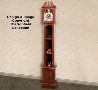 Grandfather Clock Wood Plans