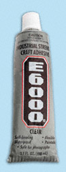 E6000 Industrial Strength Adhesive (3.7oz.)