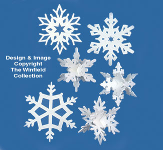 Giant Snowflakes Woodcraft Pattern