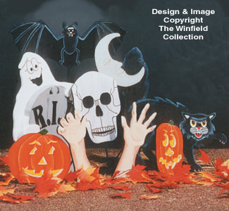 Halloween Decorations Pattern