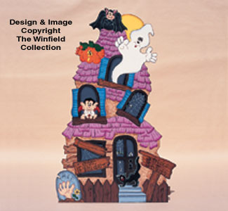 Haunted Manor Woodcraft Pattern