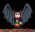 Bat Trick Or Treater Woodcraft Pattern