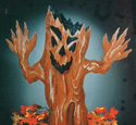 Haunted Tree Woodcraft Pattern