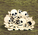 Bone Pile Woodcraft Pattern