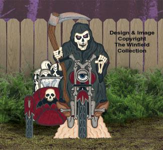 Motorcyclin' Grim Reaper Pattern