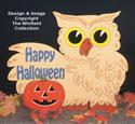 Owl Halloween Sign Pattern