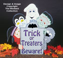 Halloween Gang Signs Woodcraft Pattern