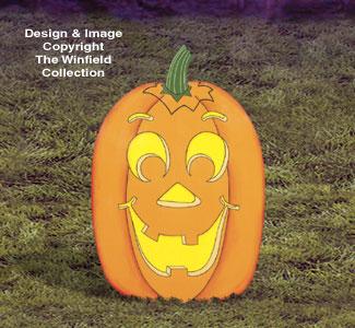 Large Yard Pumpkin Woodcraft Pattern