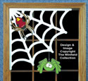 Corner Cobweb Woodcraft Pattern