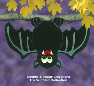 Huge Yard Bat Woodcraft Pattern