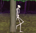 Leaning Skeleton Woodcraft Pattern